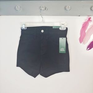 🌺Size 00   Wild Fable Black High Rise Jean Shorts